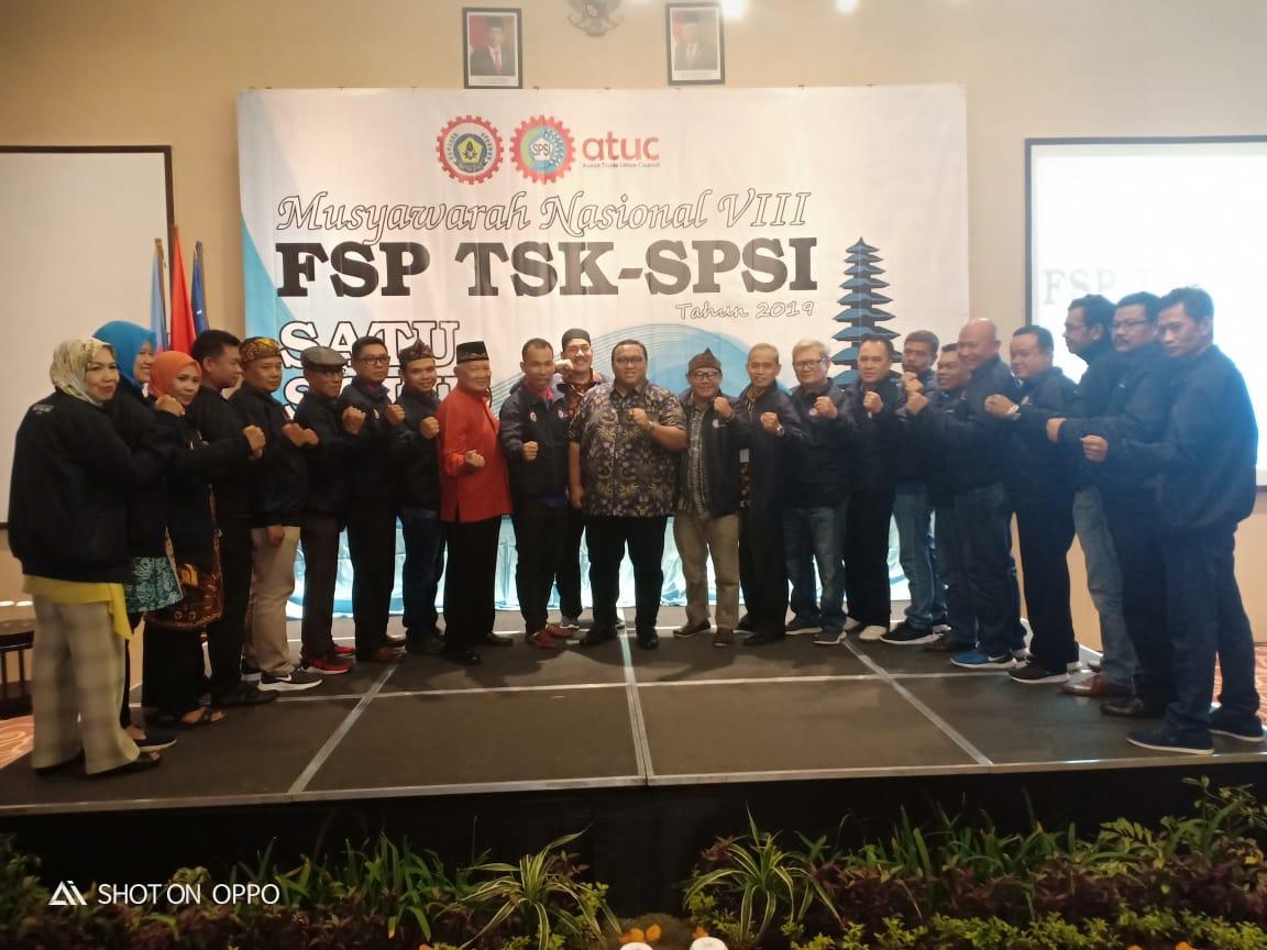 Kepengurusan Baru FSP TSK SPSI Akhirnya Terbentuk.