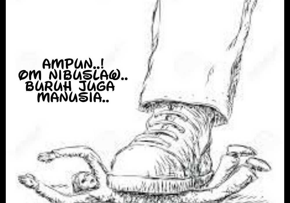 OMNIBUS LAW JANGAN KORBANKAN KAUM BURUH
